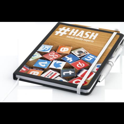 Nero A5 Notebook with Contour™ Ballpen