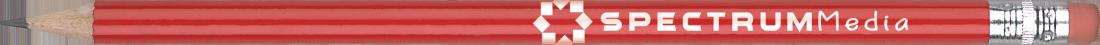 Gamme de crayons à papier standard avec gomme