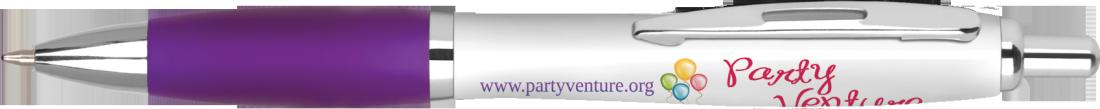Penna a sfera Contour™ Digital Argent